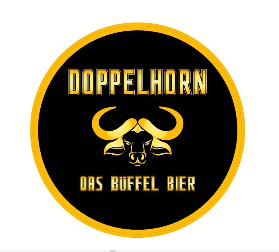 Doppelhorn Sticker