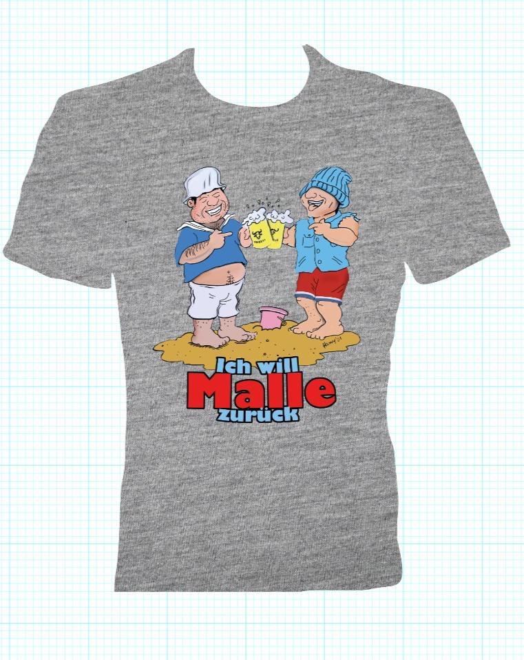 """""""Ich will Malle zurück"""" T - Shirt  -"""