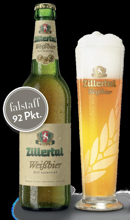Zillertal Weißbier  (12 x 0.5l)