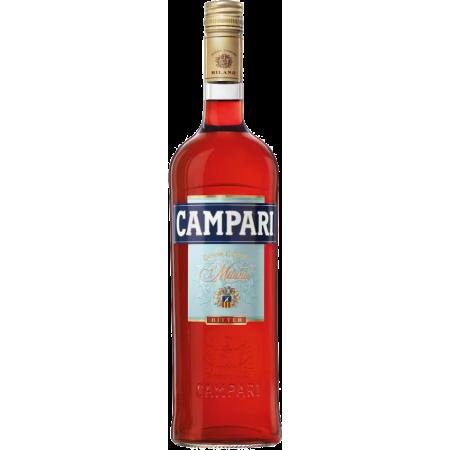 Campari Bitter Aperitif 25% Vol., 1 Liter