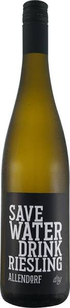 Save Water Drink Riesling Dry 0,7l